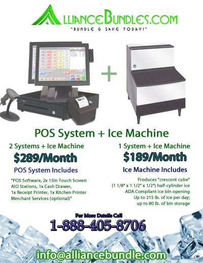 Restaurant Equipment - Ice Machine - Gas Fryer